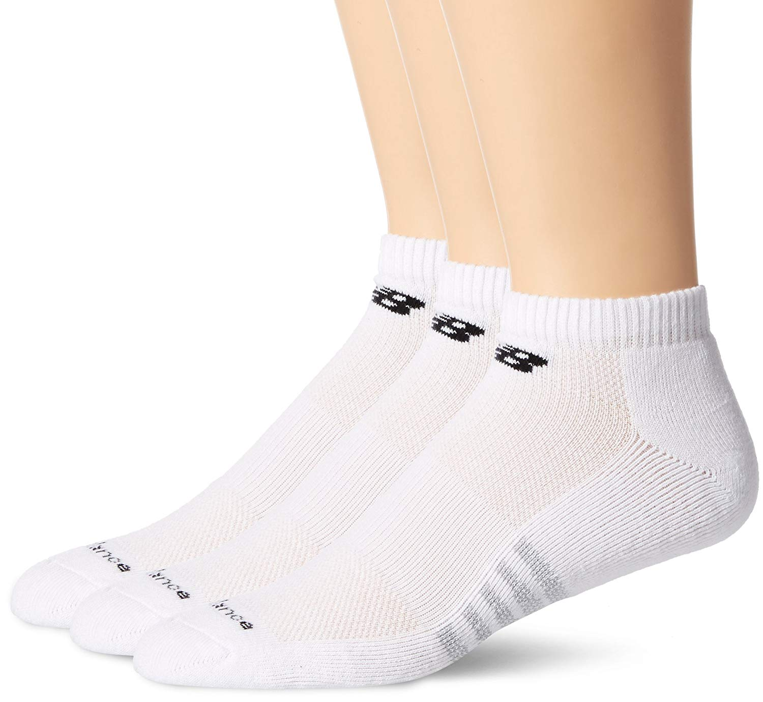 c31ad80eb4589 New Balance - Mens Performance Cotton Low Cut 3 Pack Socks