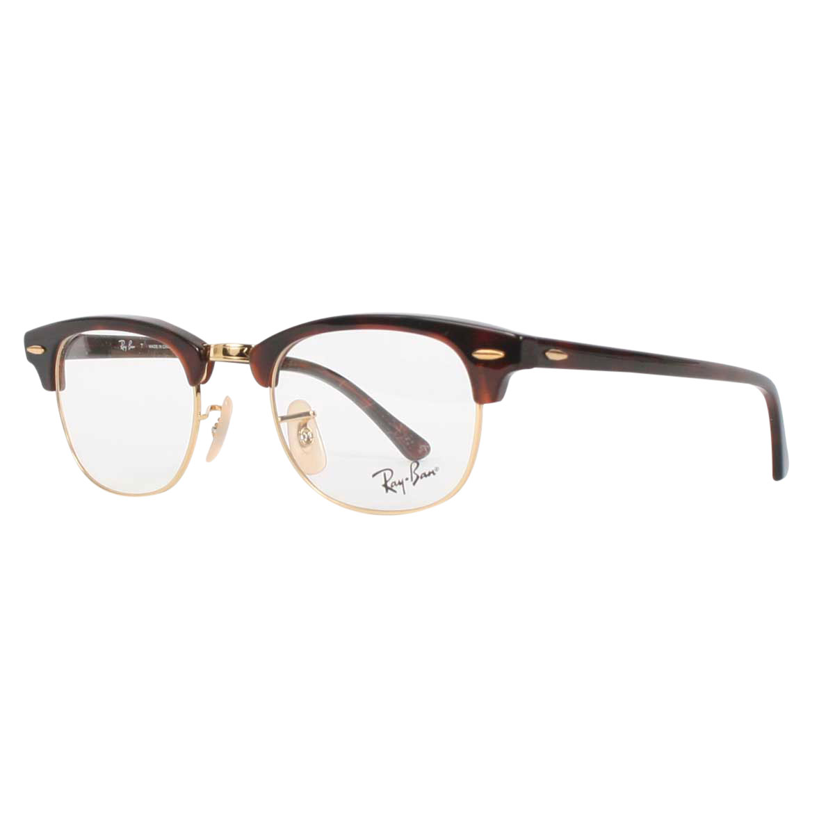 171a9293637 ... new zealand ray ban unisex clubmaster optical frames in red havana  f869c 1f415