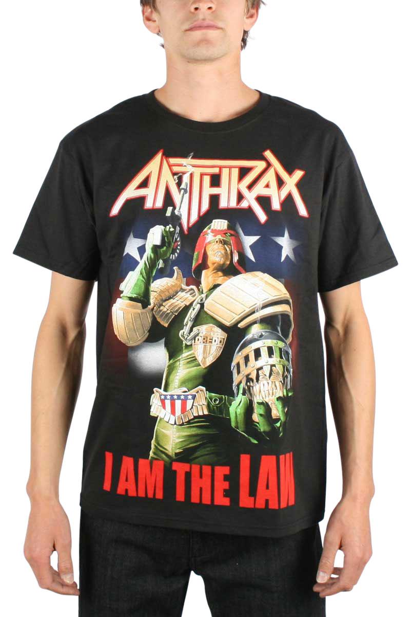 Image of Anthrax - Judge Dredd Mens T-shirt