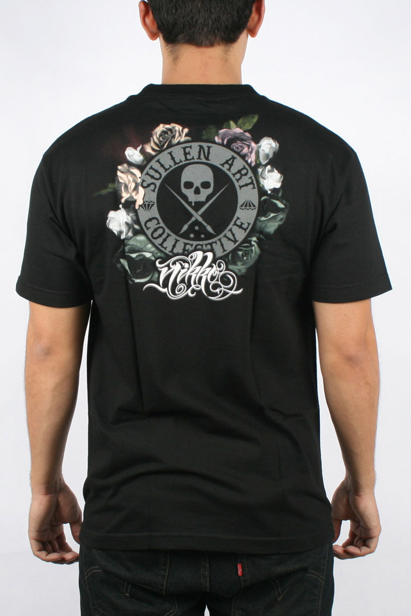 Sullen art collective nikko t shirt emo scene day of the for Black anchor collective tattoo