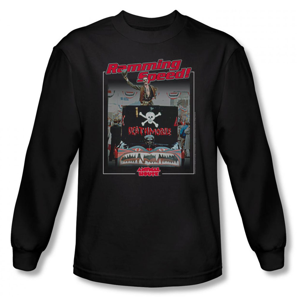 Image of Animal House - Mens Ramming Speed Long Sleeve Shirt In Black