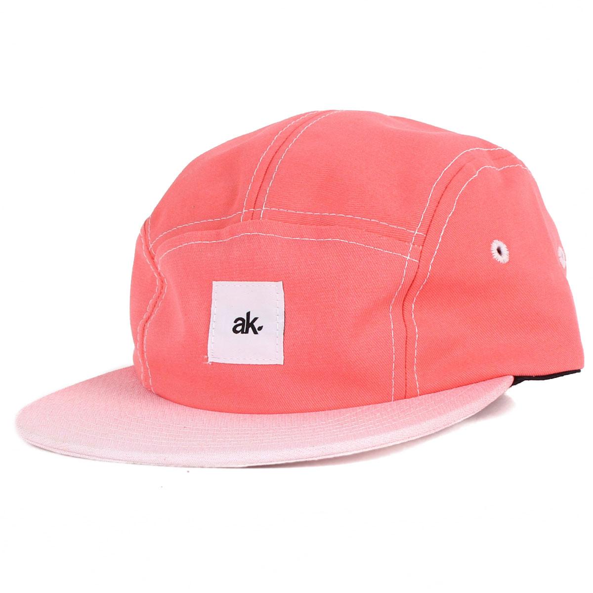 Image of Akomplice - Get Faded Camper Hat in Orange/Red