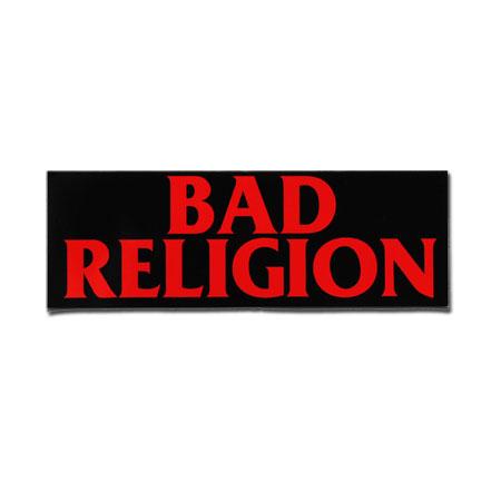 Image of Bad Religion - Logo 3x9 Bumper Sticker