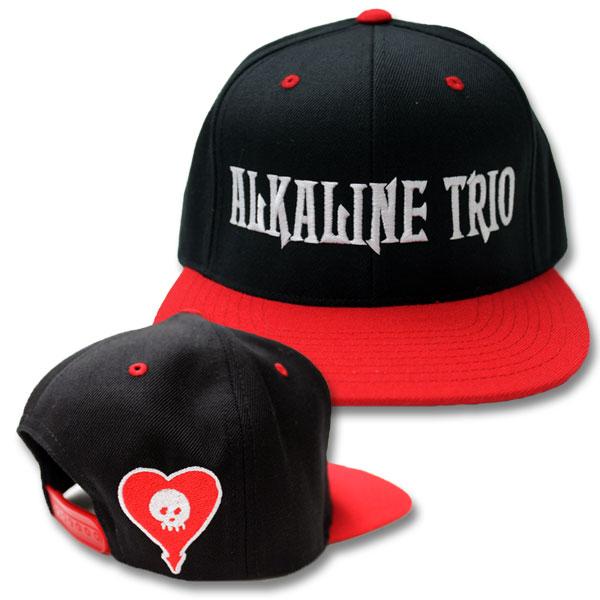 Image of Alkaline Trio - Logo Snapback Hat