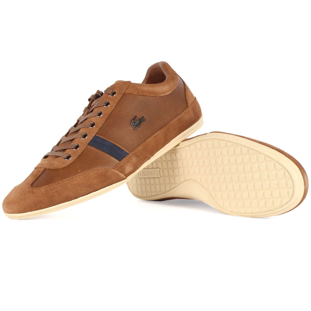 9dabe4d7443df Lacoste - Mens Misano 22 Shoes In Tan