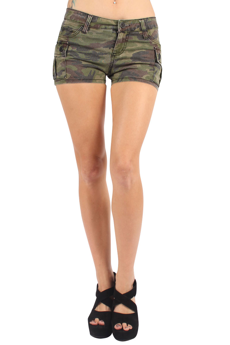 Camo Shorts. Showing 48 of results that match your query. Search Product Result. Unique Bargains Men's Multi Pockets Loose Drawstring Cargo Camouflage Pattern Shorts. Clearance. Product Image. Price $ 40 - $ Women's Camo Hot Shorts True Timber Camouflage Bottoms Made in the USA. Product Image. Price $ 99 - $