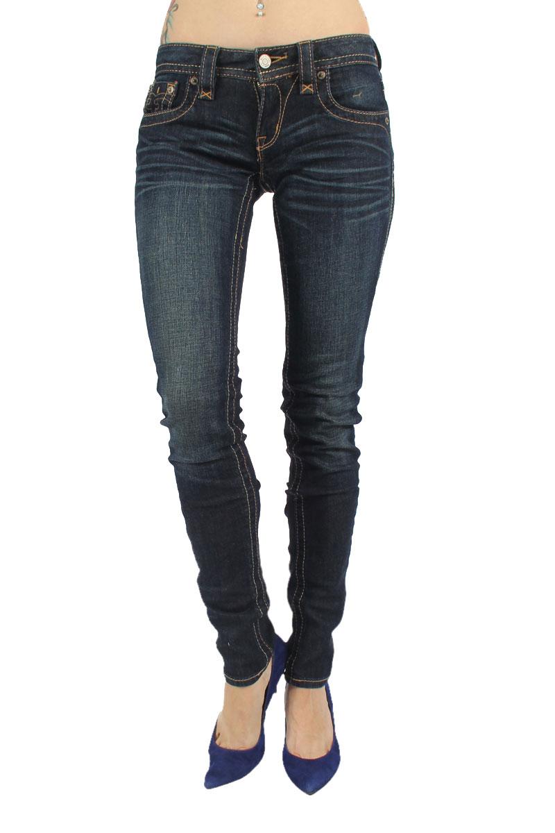 Rock Revival - Womens Jessica Skinny Jeans in S11 Denim