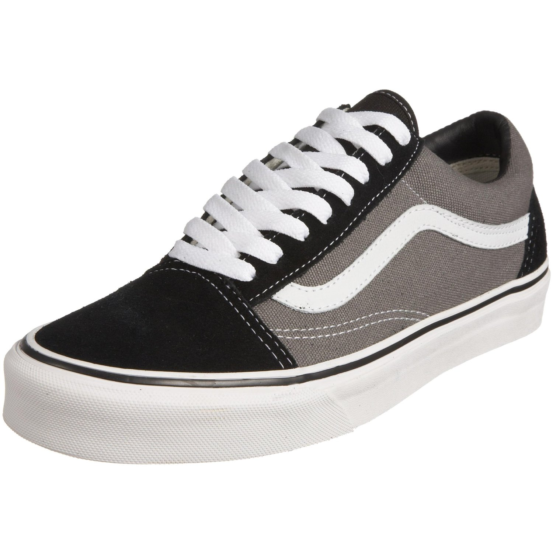 Vans U Old Skool Shoes In BlackPewter