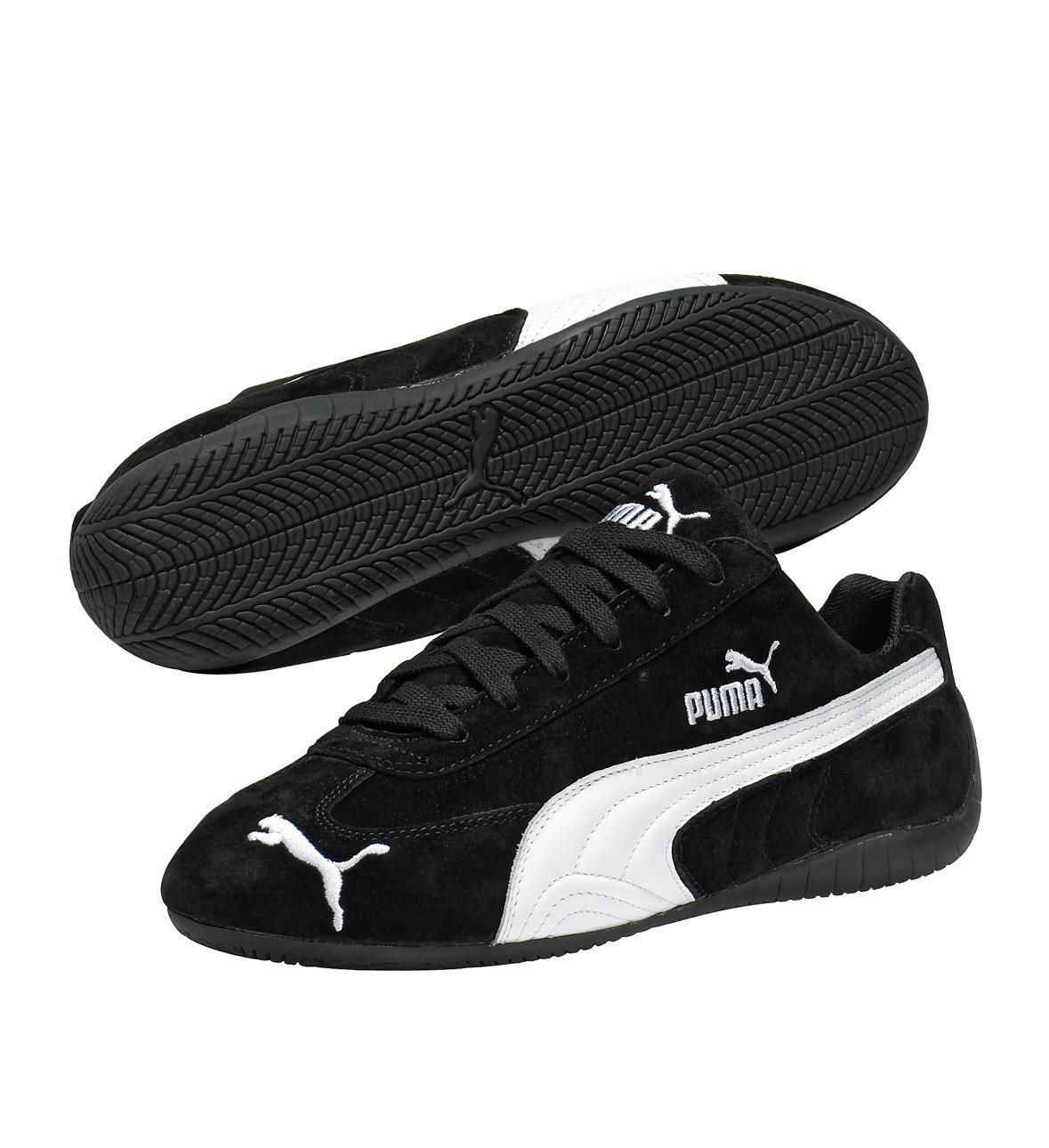 Puma Speed Cat SD US Shoes in Black and White