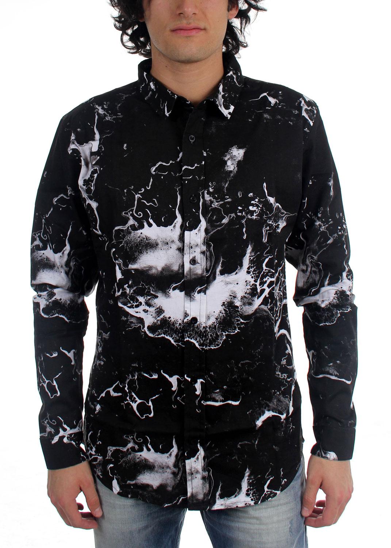 Image of Akomplice - Mens AK x MC Black Ocean Woven