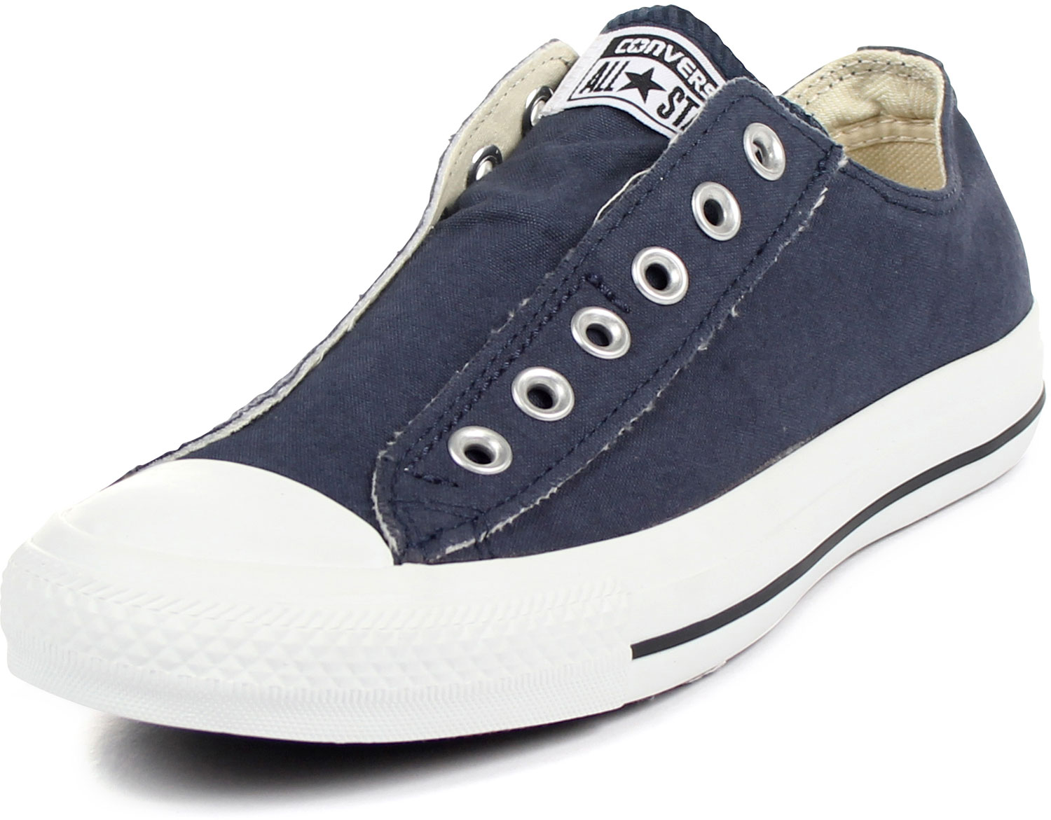 converse chuck taylor slip on shoes in navy 1t156. Black Bedroom Furniture Sets. Home Design Ideas