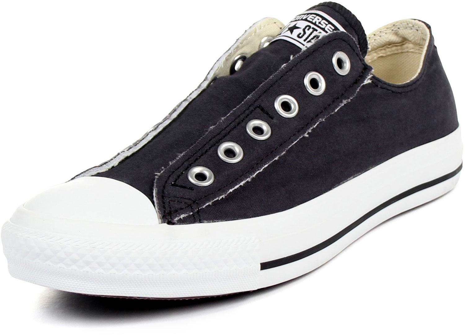 converse chuck taylor slip on shoes in black it366. Black Bedroom Furniture Sets. Home Design Ideas