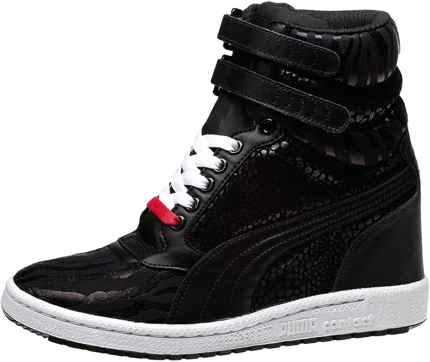 PUMA 'Sky Wedge Reptile' Sneaker | Sneakers, Shoes, Wedge