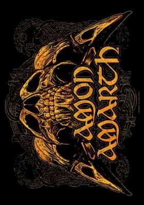 Image of Amon Amarth - Skulls 30 x 40 Textile/Fabric Poster
