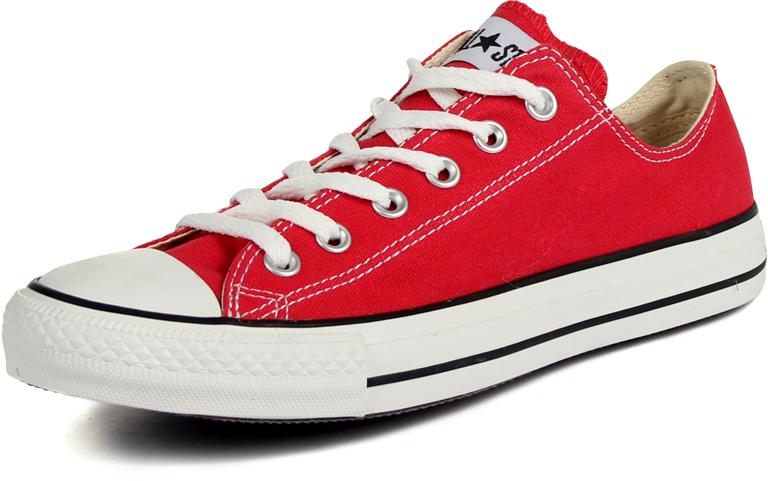 9c8027d169b Converse Chuck Taylor All Star Shoes (M9696) Low Top in Red