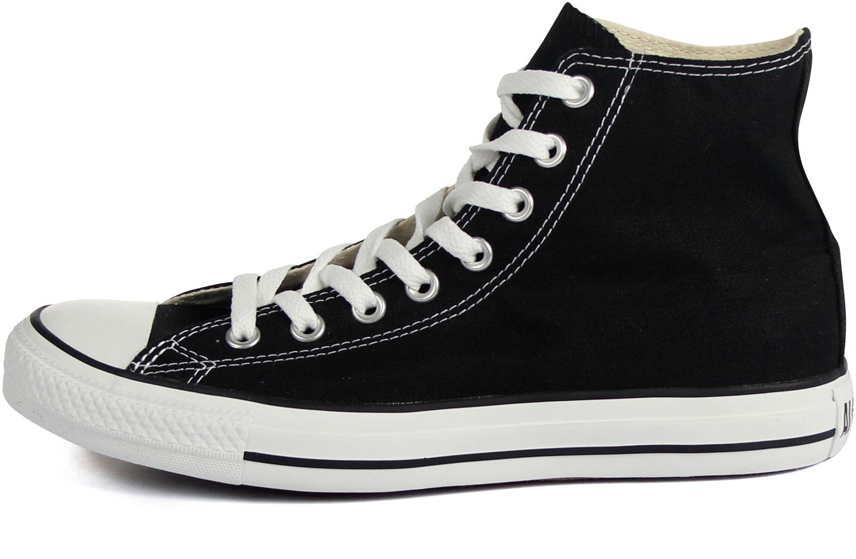 feb97e8cf7ae Converse Chuck Taylor All Star Shoes (M9160) Hi Top in Black