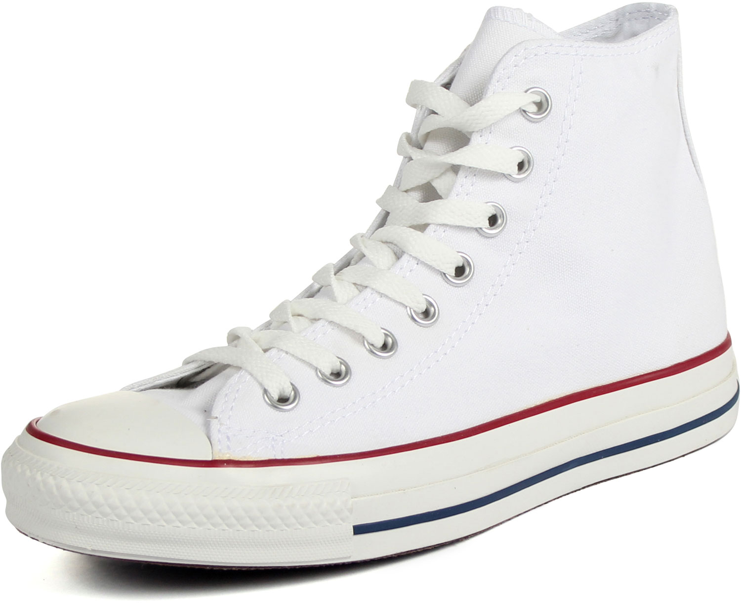 b433eb89508b74 Converse Chuck Taylor All Star Shoes (M7650) Hi Top in Optical White