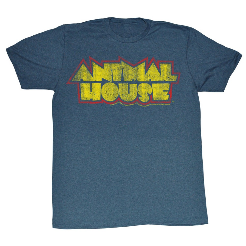 Image of Animal House - Mens House Fever T-Shirt In Navy Heather