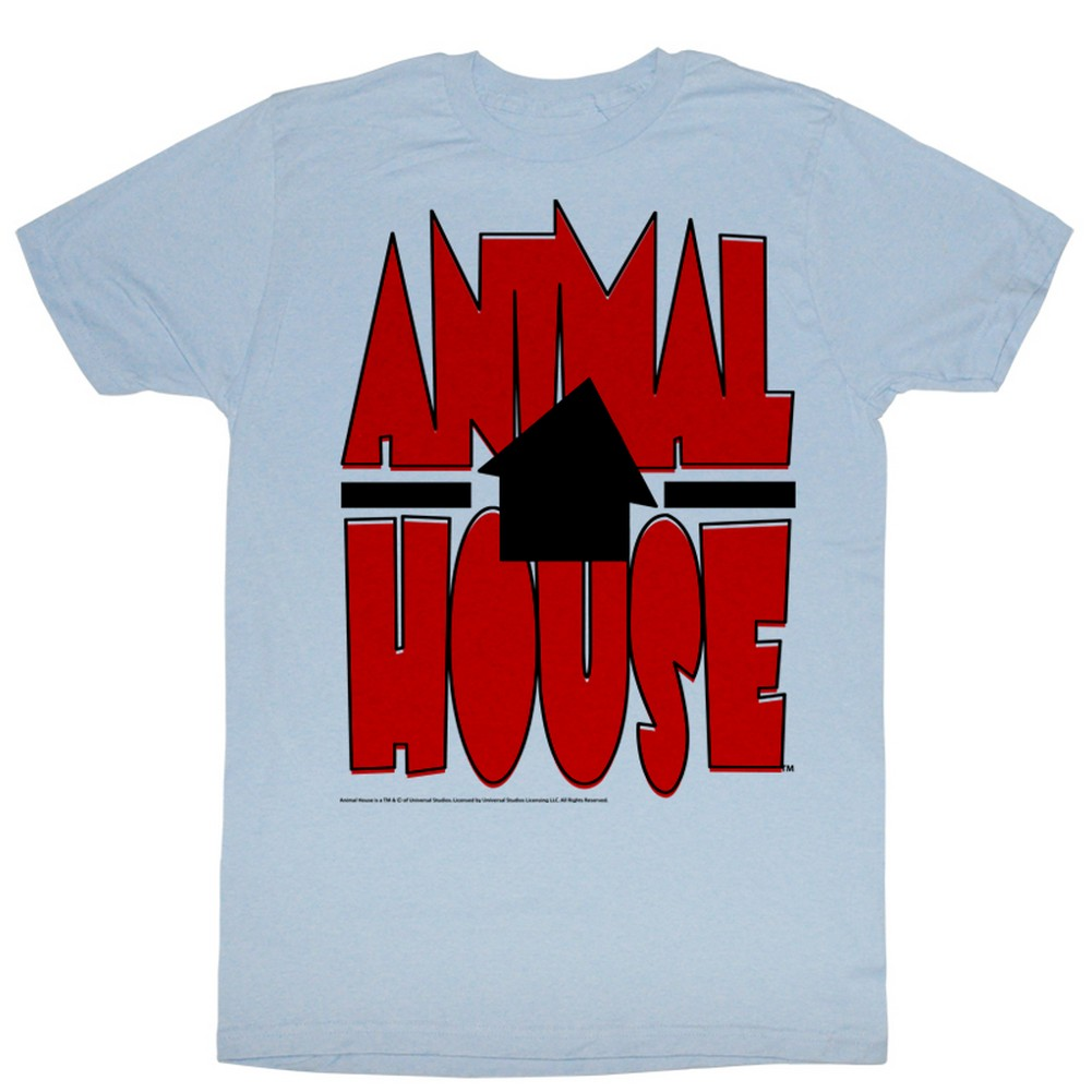 Image of Animal House - Mens Tilted House T-Shirt