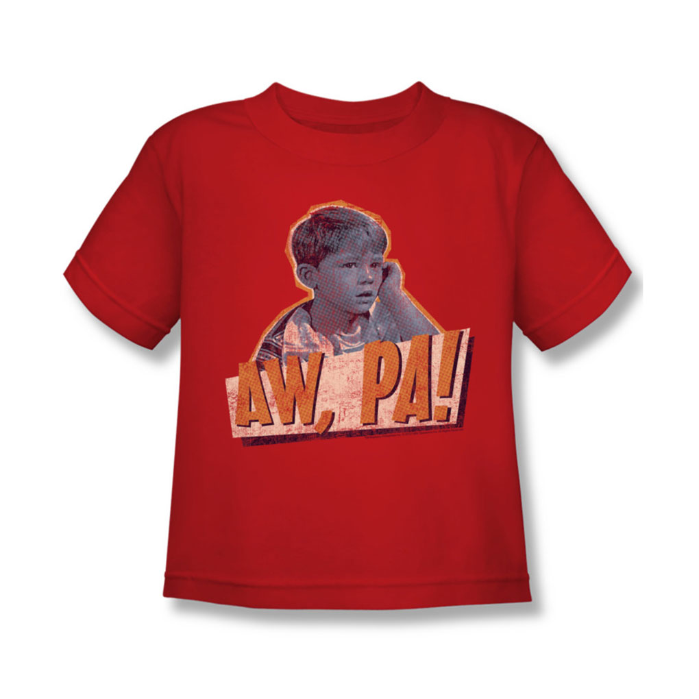 Image of Andy Griffith - Juvy Aw Pa T-Shirt In Red