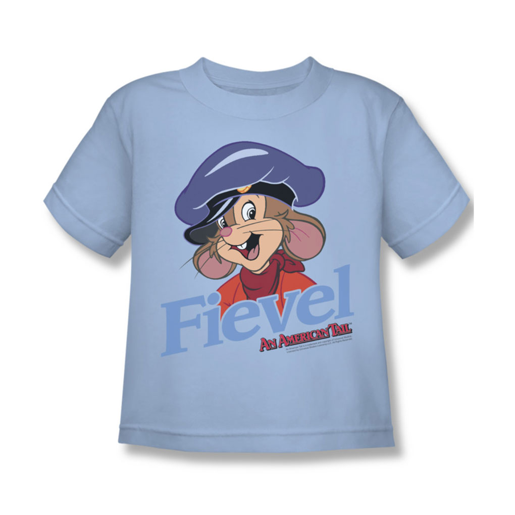 Image of American Tail - Juvy Fiviel T-Shirt In Light Blue