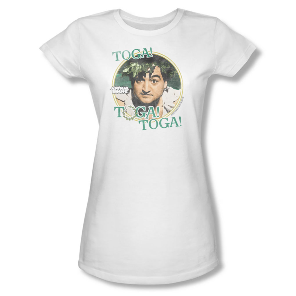 Image of Animal House - Womens Toga T-Shirt In White
