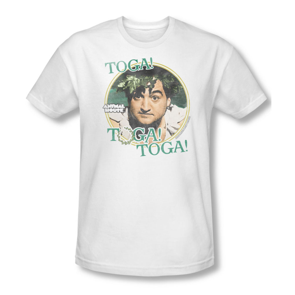 Image of Animal House - Mens Toga T-Shirt In White