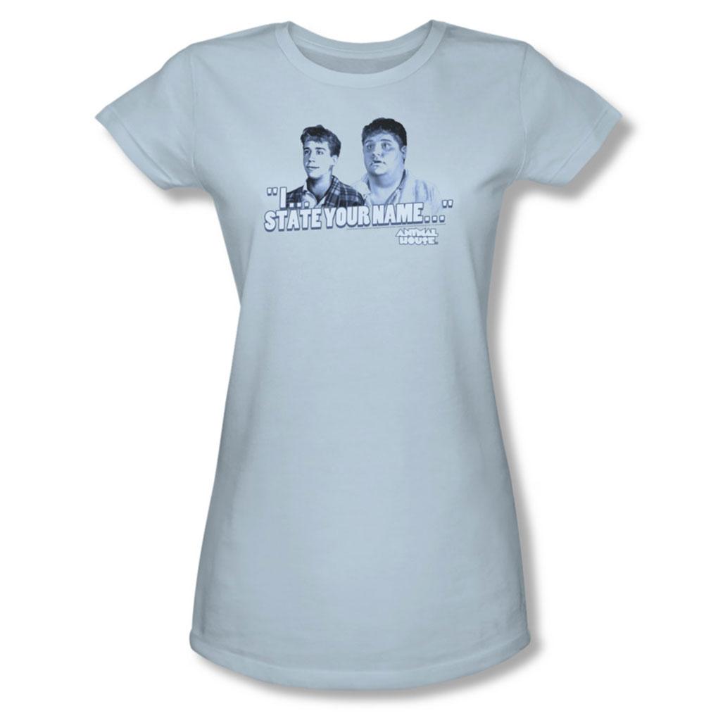 Image of Animal House - Womens Pledges T-Shirt In Light Blue
