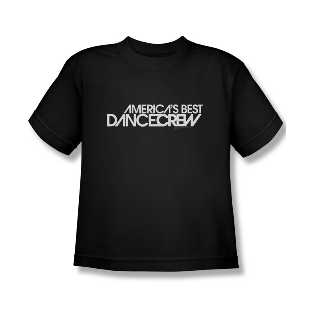 Image of AmericaS Best Dance Crew - Youth Dance Crew Logo T-Shirt In Black
