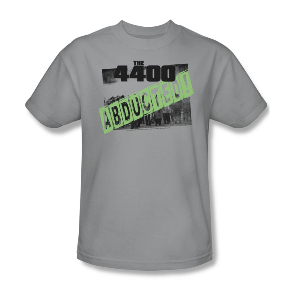 Image of 4400 - Abducted - Adult Silver S/S T-Shirt For Men