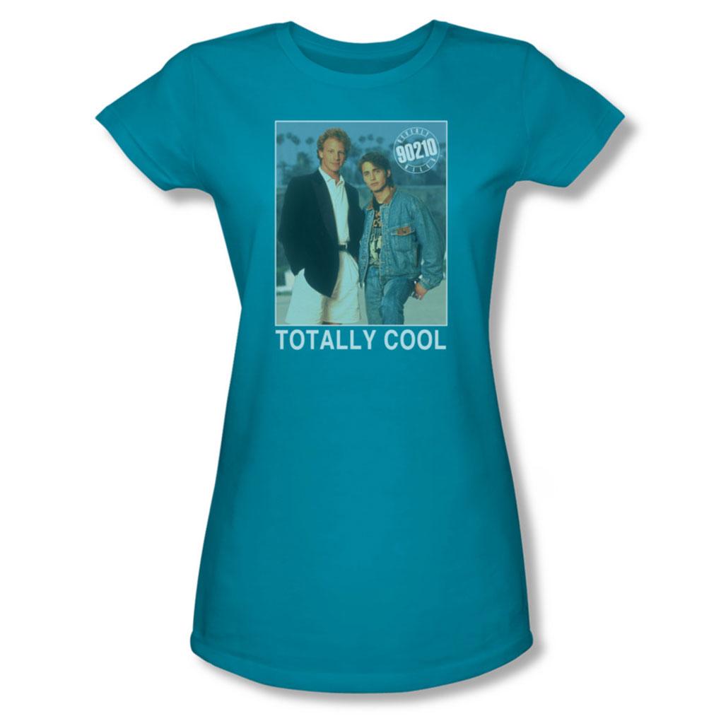 Image of 90210 - Juniors Totally Cool Sheer T-Shirt