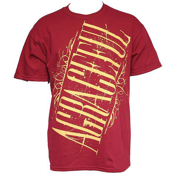 Image of A Graceful - The Great One Mens T-shirt in Red