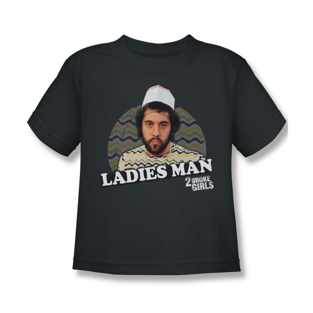 Image of 2 Broke Girls - Juvy Ladies Man T-Shirt