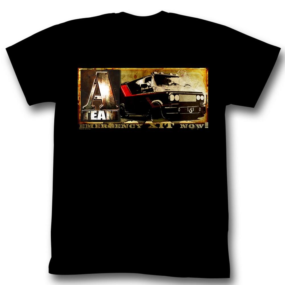Image of A-Team - Mens A Van T-Shirt