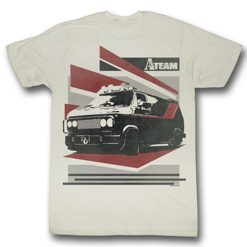 Image of A-Team - Mens B Van T-Shirt