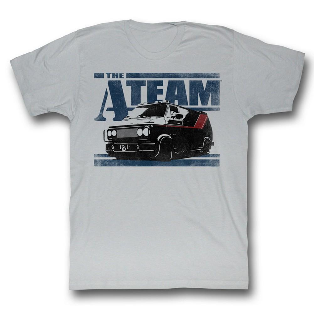 Image of A-Team - Mens Team Van T-Shirt