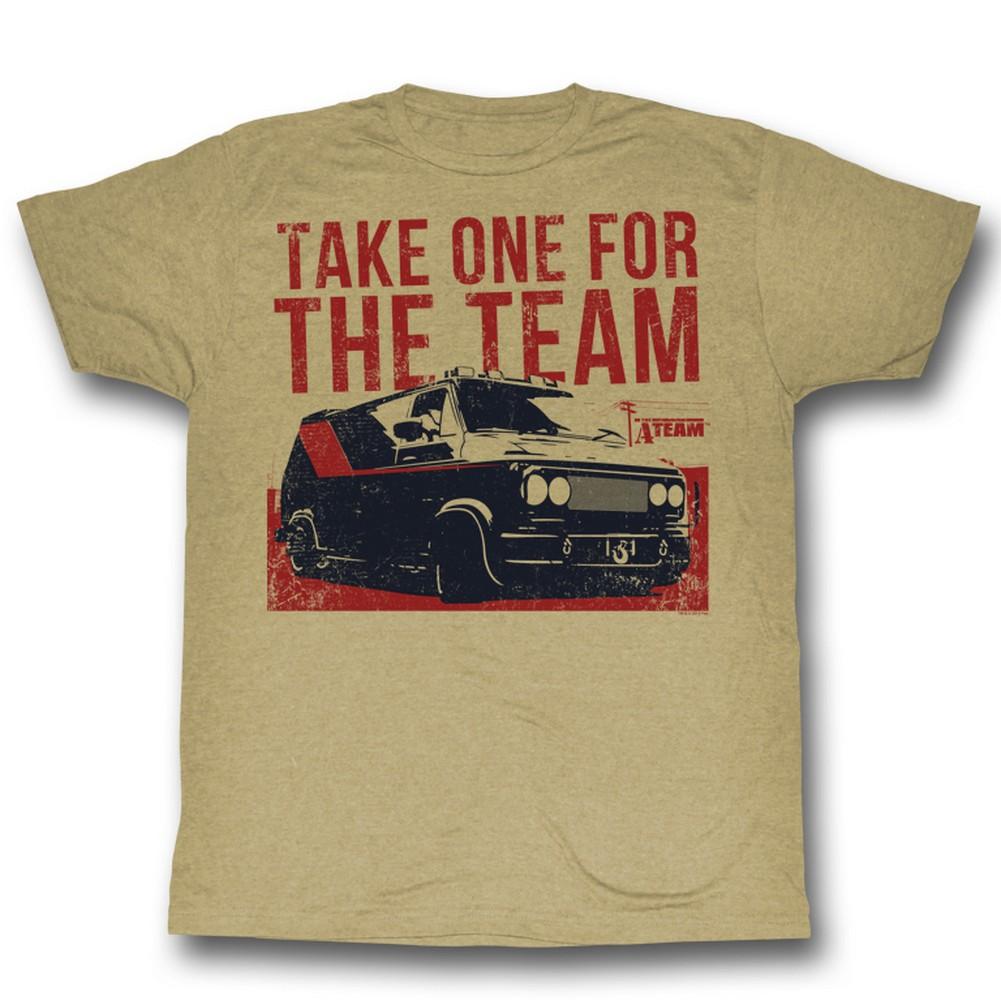Image of A-Team - Mens 4 Da Team T-Shirt