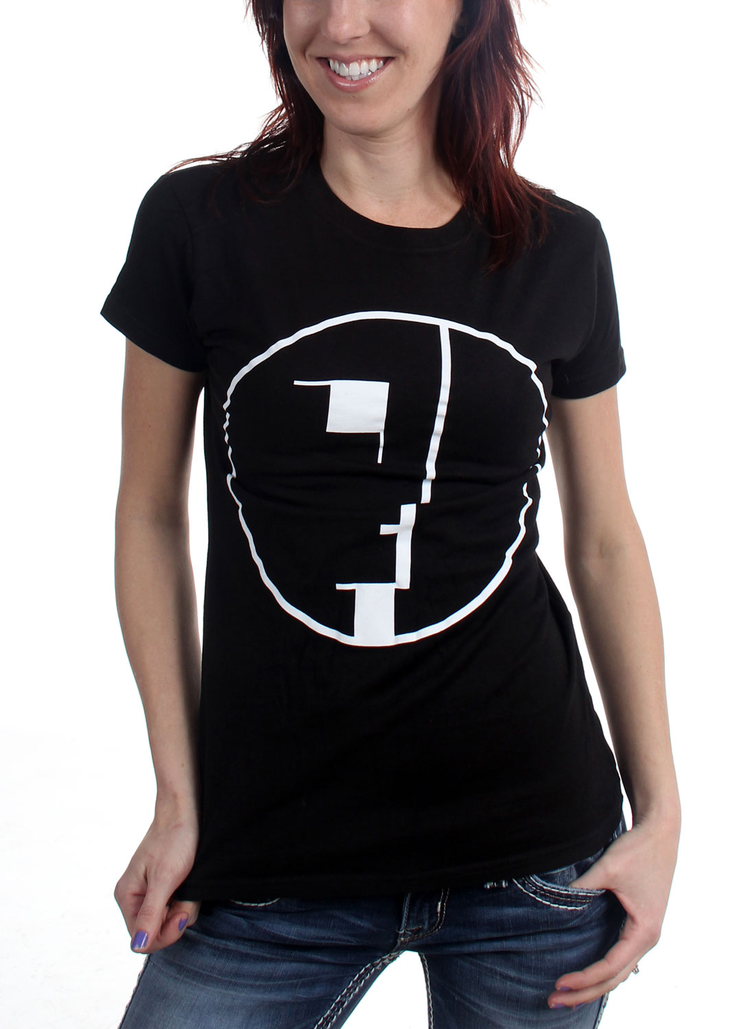 bauhaus spirit logo womens t shirt in black. Black Bedroom Furniture Sets. Home Design Ideas