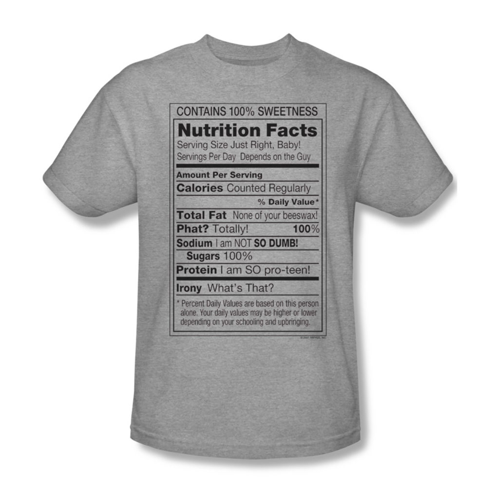 Image of 100% Sweetness - Mens T-Shirt In Heather