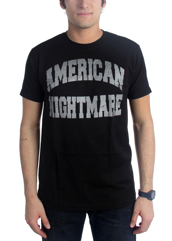 Image of American Nightmare - Mens Collegiate Letter T-Shirt