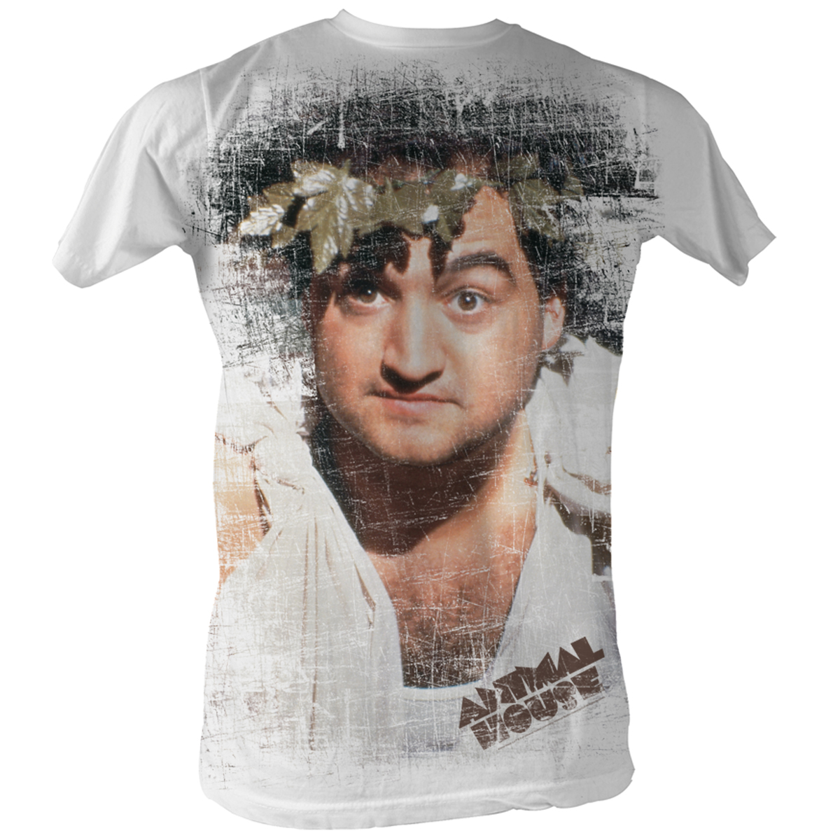 Image of Animal House - Toga Mens T-Shirt In White Sublimation