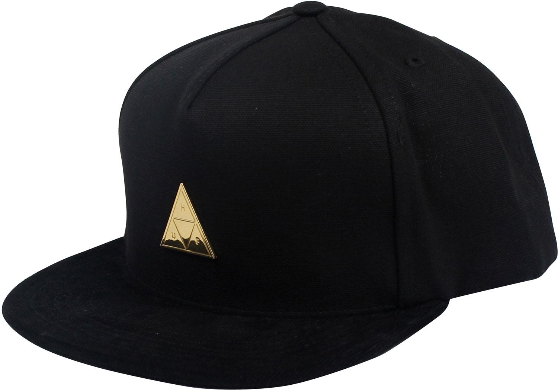 Huf Metal Triangle Railroad Snapback Hat