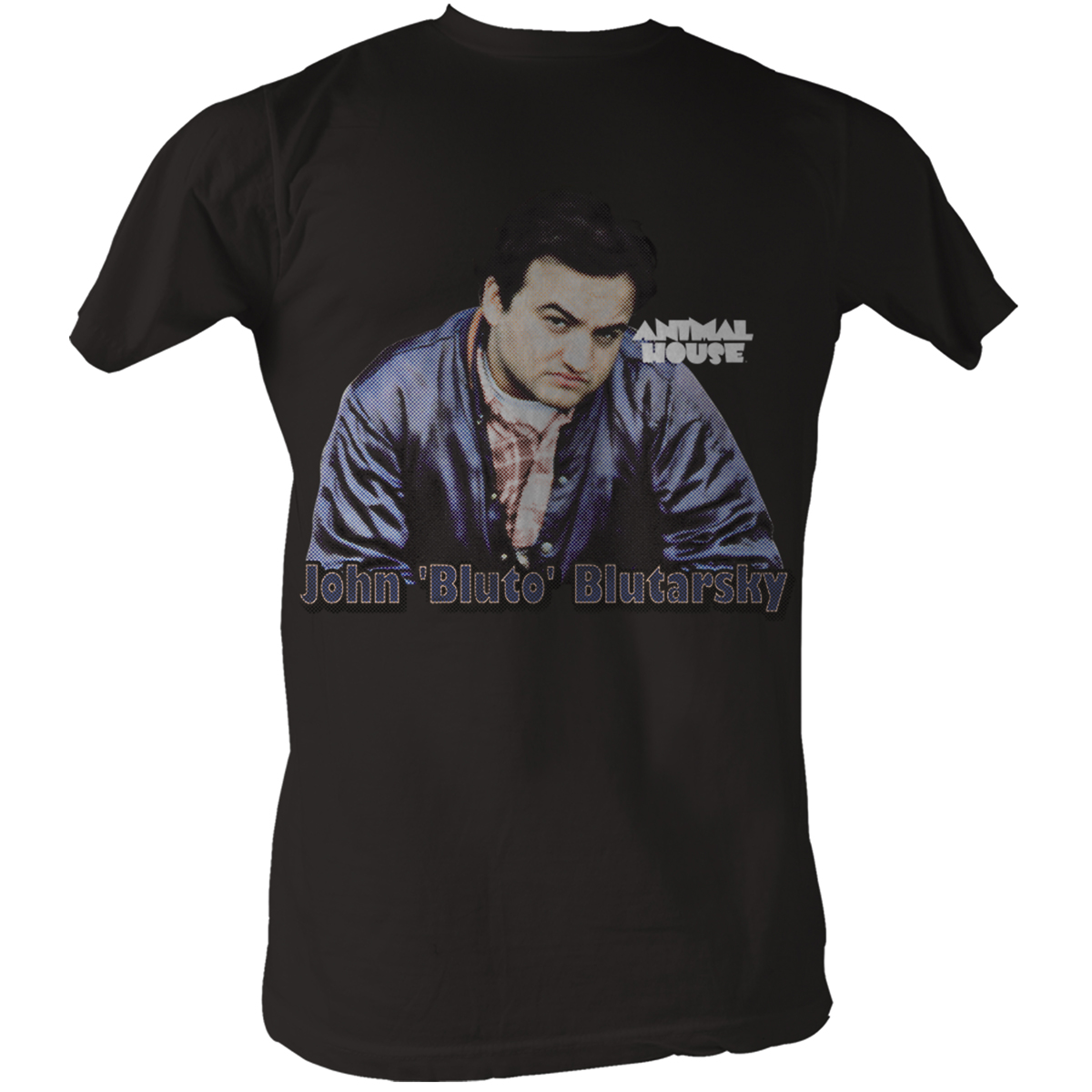 Image of Animal House - Bluto Mens T-Shirt In Coal