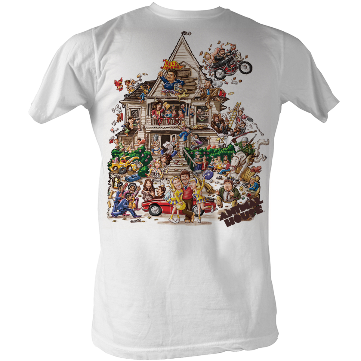 Image of Animal House - House Mens T-Shirt In White