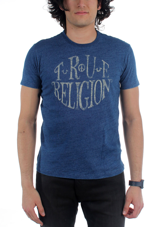 true religion mens true circle t shirt. Black Bedroom Furniture Sets. Home Design Ideas
