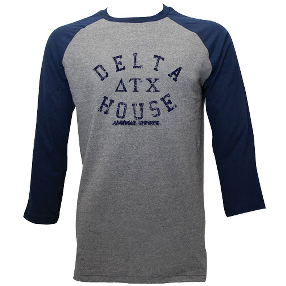 Image of Animal House - Mens Delta House Raglan