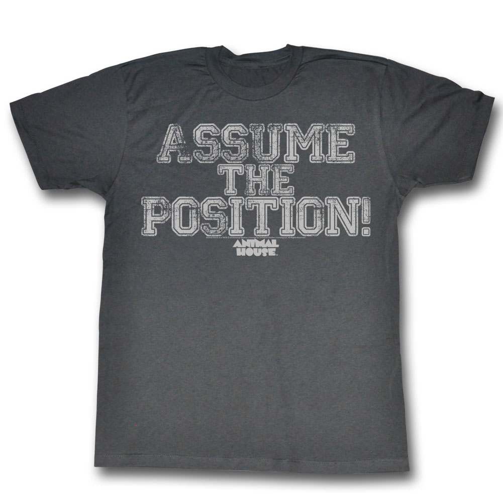 Image of Animal House - Mens Position Yourself T-Shirt