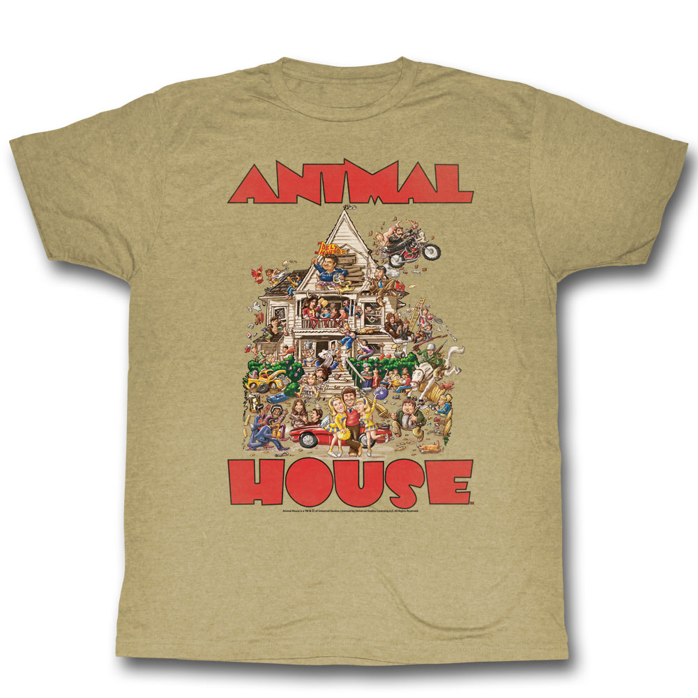 Image of Animal House - Mens The House T-Shirt