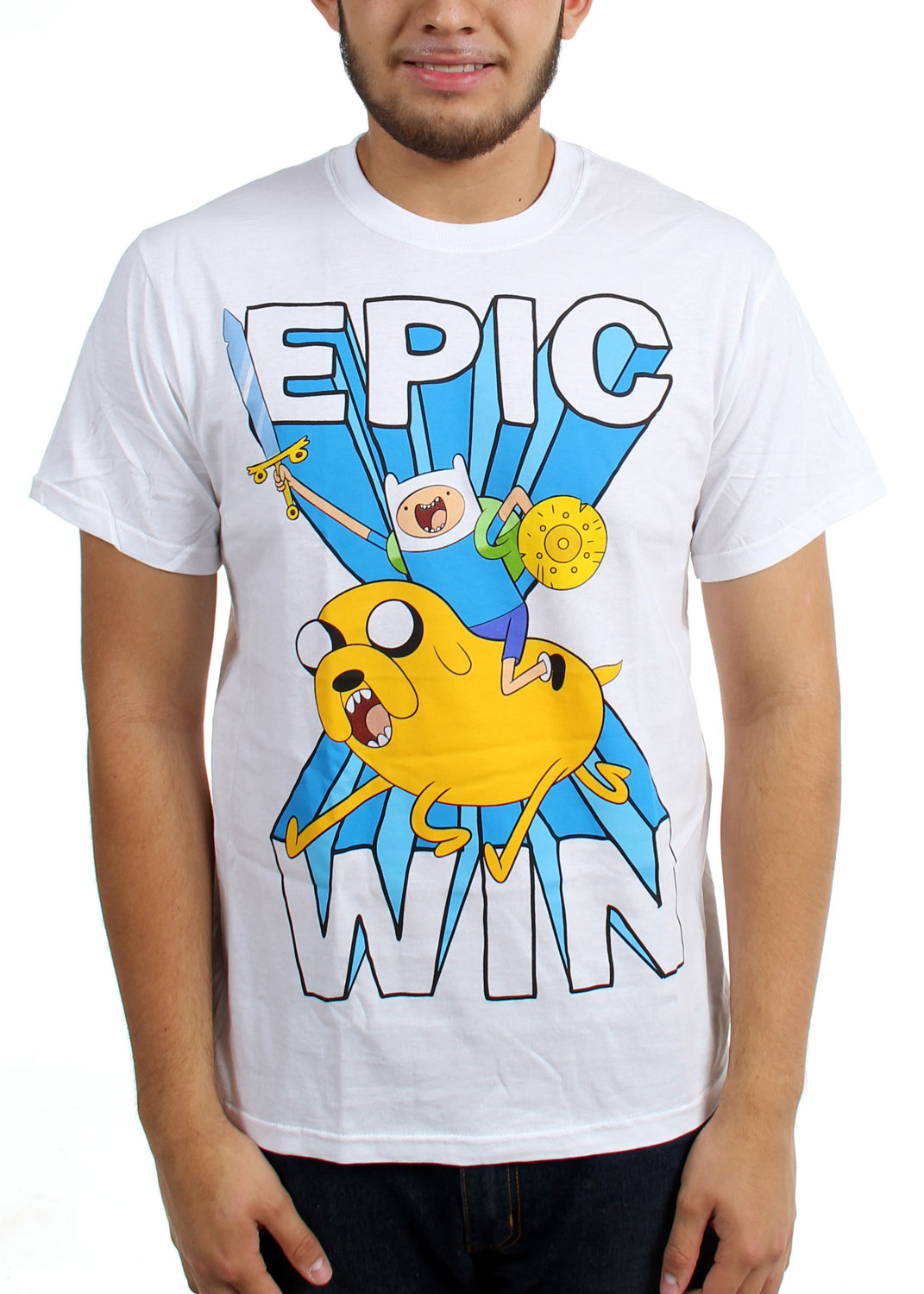Image of Adventure Time - Mens Epic Win T-Shirt
