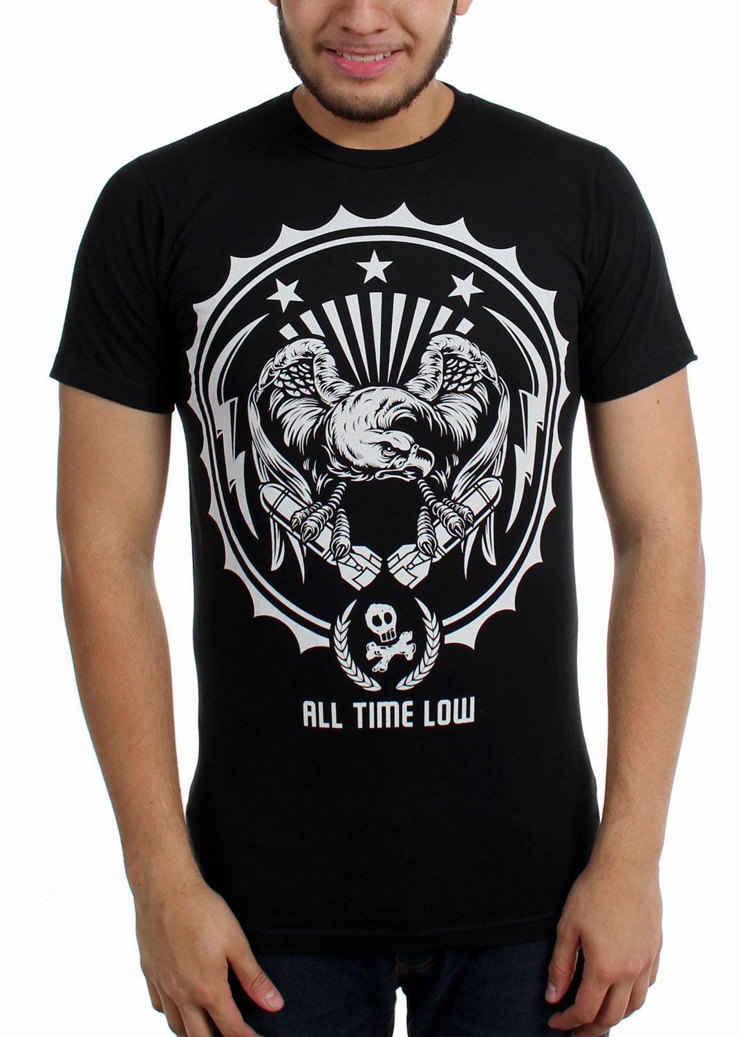Image of All Time Low - Mens Eagle Drop Slim Fit T-Shirt